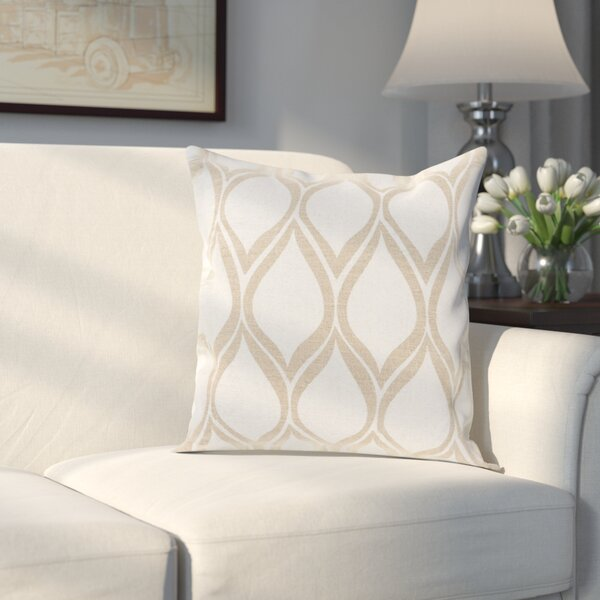 Rye 100% Linen Throw Pillow Cover by Alcott Hill